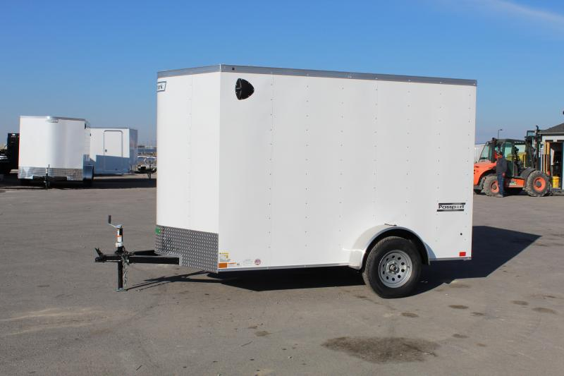 Haulmark 6x10 Enclosed Steel Cargo Trailer