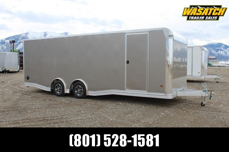 Alcom 8.5x24 EZ Hauler Aluminum Enclosed Car / Racing Trailer