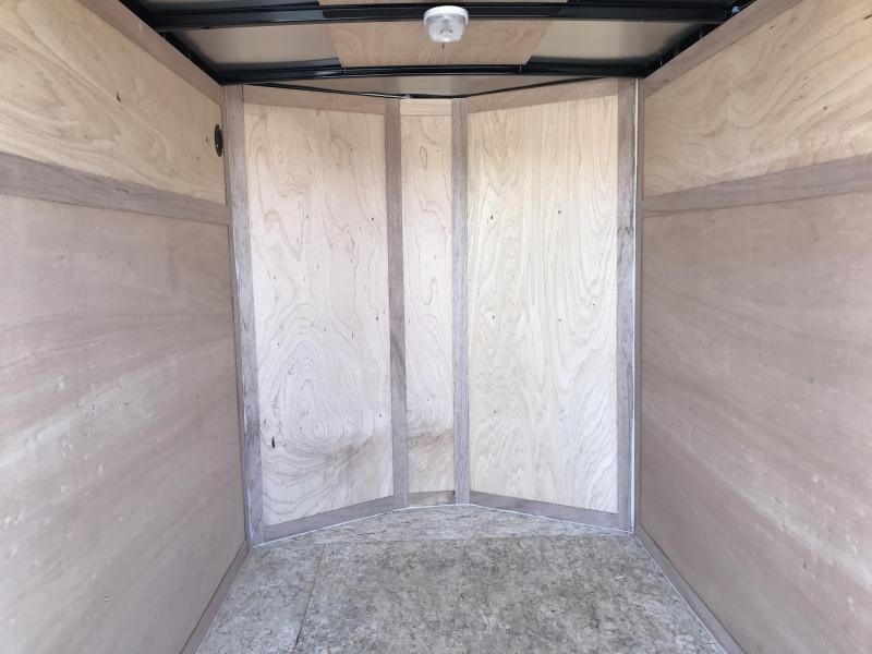 2020 Haulmark 5x8 Passport w/ Door Enclosed Cargo Trailer