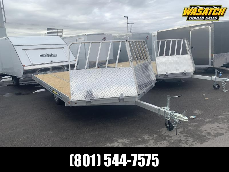 2020 Aluma 12' 8612 Drive-On/Off Snowmobile Trailer