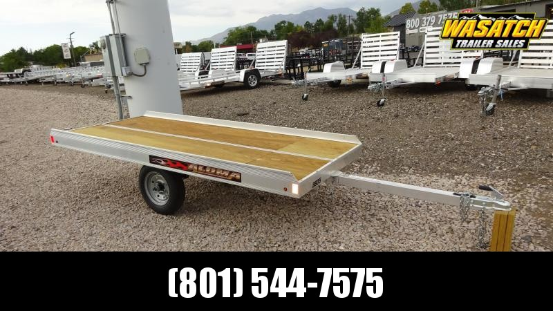 2020 Aluma 8605 Tilt Bed Snowmobile Trailer