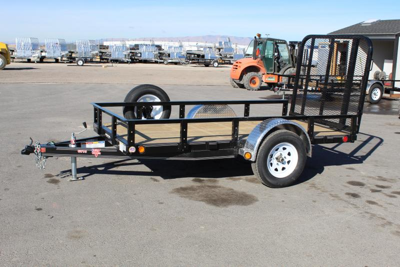 PJ Trailers 5x10 Single Axle Channel (U6) Utility Trailer
