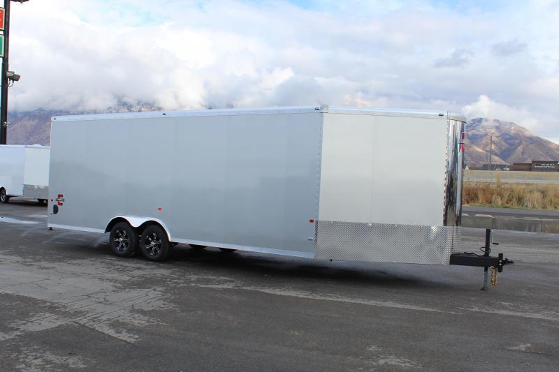 Charmac Trailers 8.5x28 Stealth Tri Sport Snowmobile Trailer