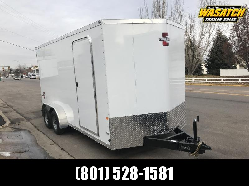 Charmac 7x16 Stealth Enclosed Steel Cargo w/ V-nose