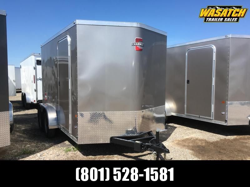 Charmac 7x12 Stealth Enclosed Steel Cargo V-Nose
