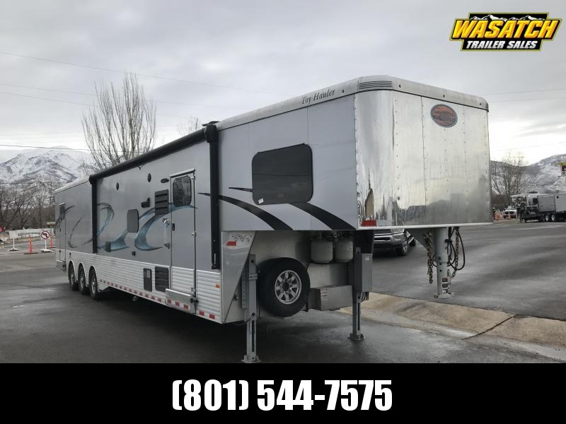 2018 Sundowner Trailers 46ft Silver Toy Hauler