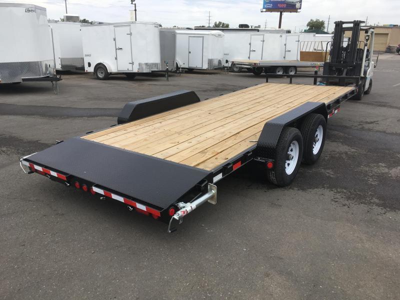 2020 PJ Trailers 20 ft. - 5 in. Channel Equipment (CE) Trailer