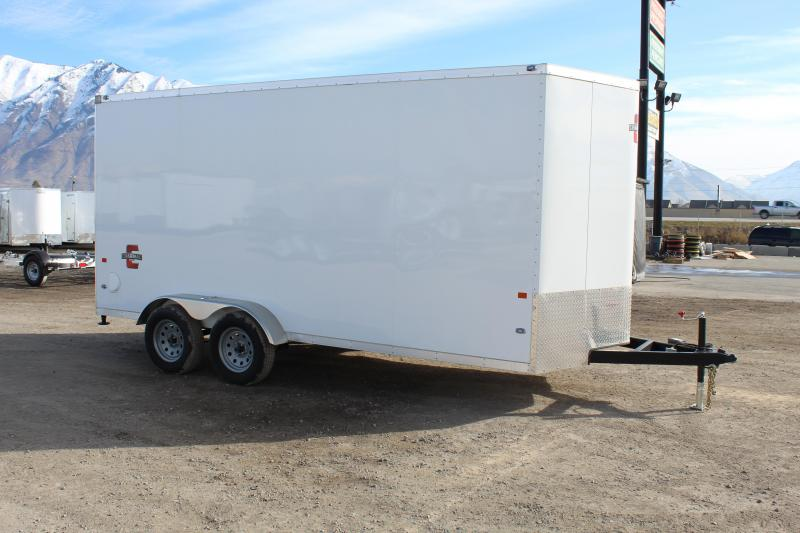 Charmac Trailers 7x16 Stealth Enclosed Cargo Trailer w/ UTV Package