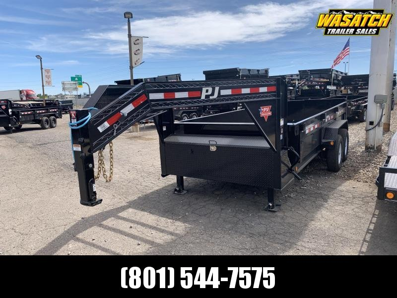 2020 PJ Trailers 83x16 Low Pro Dump (DL) Dump Trailer