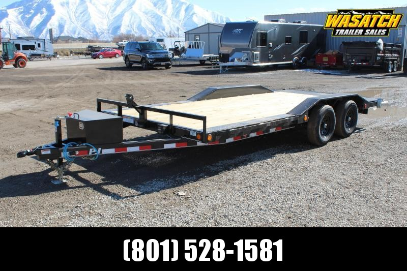 "PJ Trailers 8.5x18 5"" Channel (B5) Buggy Hauler"