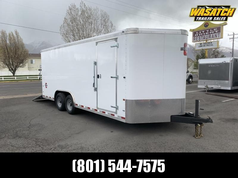 Charmac 8x20 Commercial Duty Enclosed Cargo