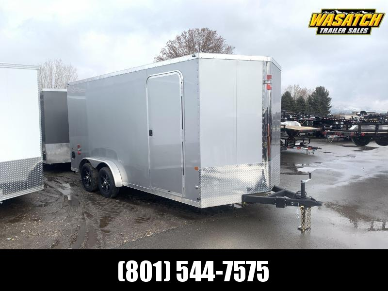 2020 Charmac Trailers 7.5x16 Stealth w/ UTV Package Enclosed Cargo Trailer