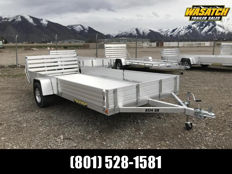 Aluma 7x14 Utility Trailer w/ ATV Side Ramps