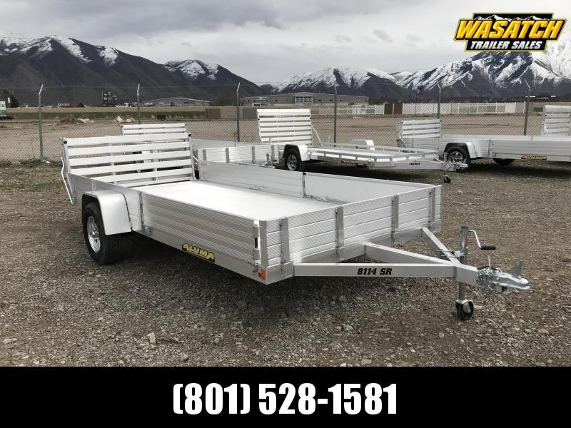 Aluma 7x14 Utility Trailer w/ ATV Side Ramps