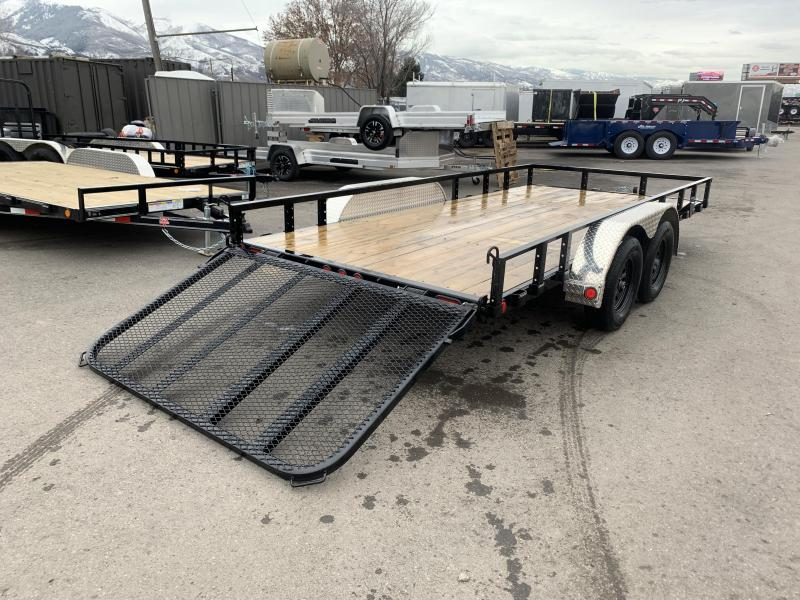 2020 PJ Trailers 16 ft - 83 in. Tandem Axle Channel Utility (UL) Utility Trailer