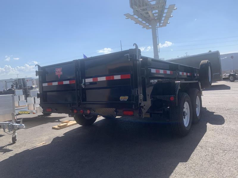 PJ 16ft - 83 in. Low Pro Dump (DL) Dump Trailer