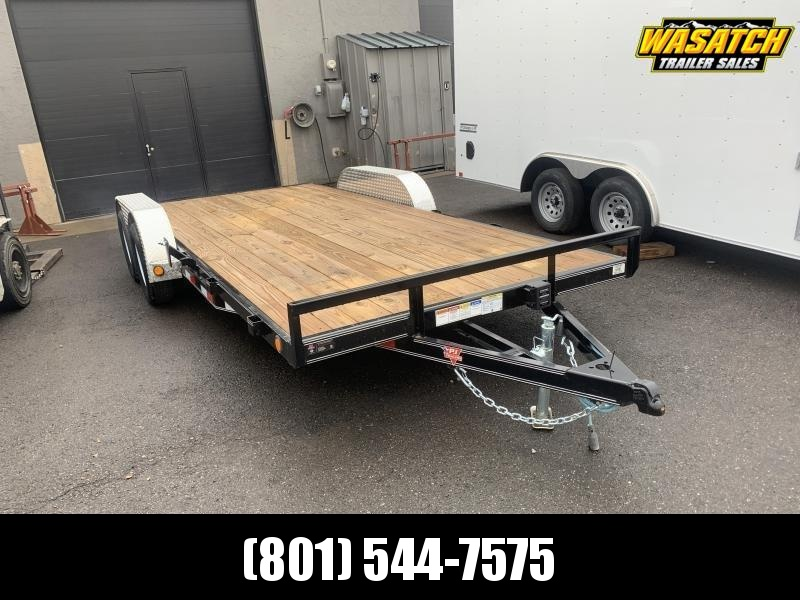 PJ 16ft - 4 in. Channel Carhauler (C4) Car / Racing Trailer