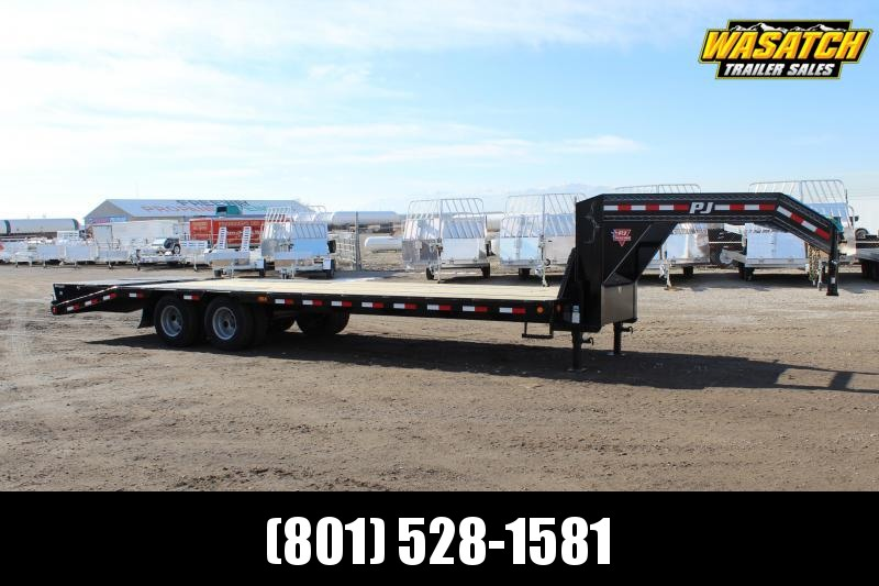 PJ Trailers Low-Pro Flatdeck With Duals (LD) Flatbed Trailer