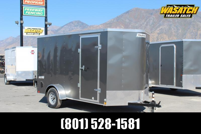 Haulmark 6x12 Passport Enclosed Steel Cargo Trailer w/ V-Nose