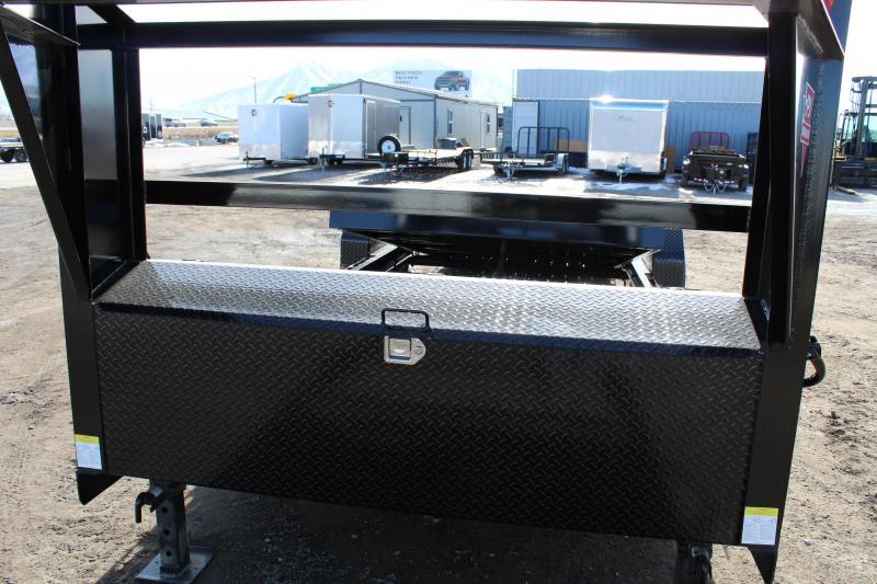PJ Trailers 7x22 Channel Equipment Tilt (T6) Equipment Trailer