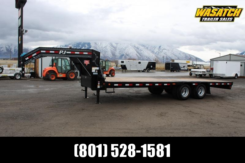 PJ Trailers 8.5x24 Low-Pro Flatdeck With Duals (LD) Flatbed Trailer