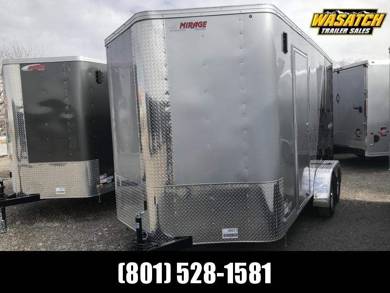 Mirage 7x14 Xpres Enclosed Steel Cargo w/ V-nose