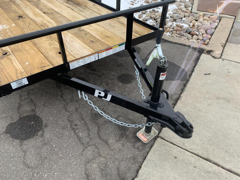 PJ 5x10 Angle Utility Trailer (E6)