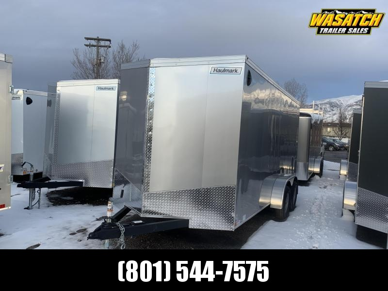 2020 Haulmark 7x16 Transport w/ UTV Package Enclosed Cargo Trailer
