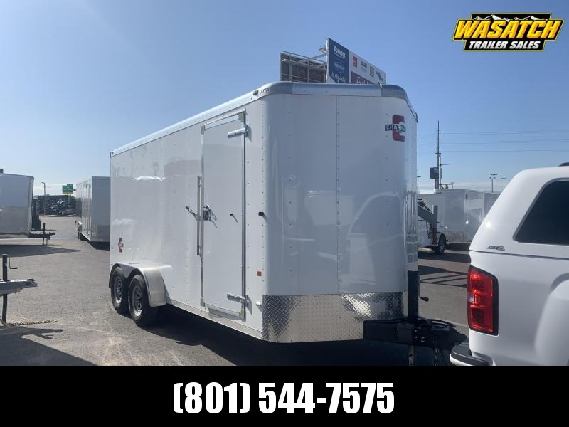 USED - 2018 Charmac Trailers 7x16 Standard Duty Enclosed Cargo Trailer