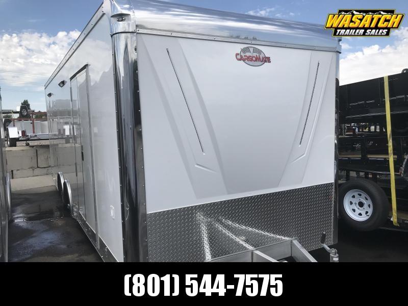 2018 Cargo Mate 8x24 Aluminum Eliminator Car Hauler
