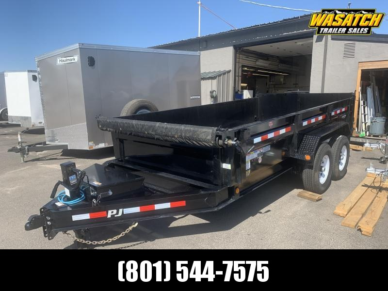 2020 PJ Trailers 14 ft - 83 in. Low Pro Dump (DL) Dump Trailer