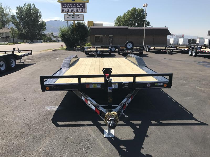 "PJ Trailers 8.5x16 5"" Channel Buggy Hauler (B5) Car Hauler"
