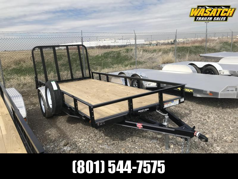 2020 PJ Trailers 77x12 Single Axle Channel (U7) Utility Trailer