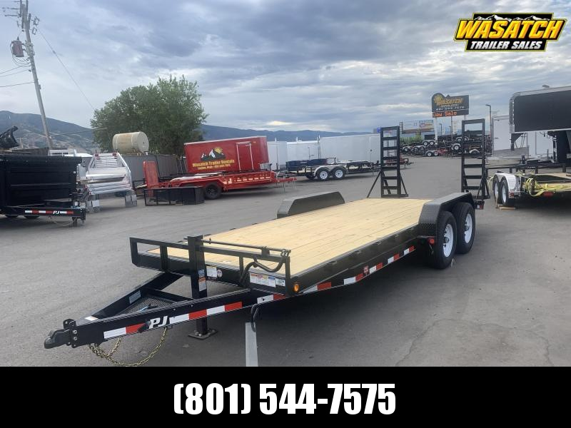 2020 PJ Trailers 20ft - 6 in. Channel Equipment (CC) Car / Racing Trailer