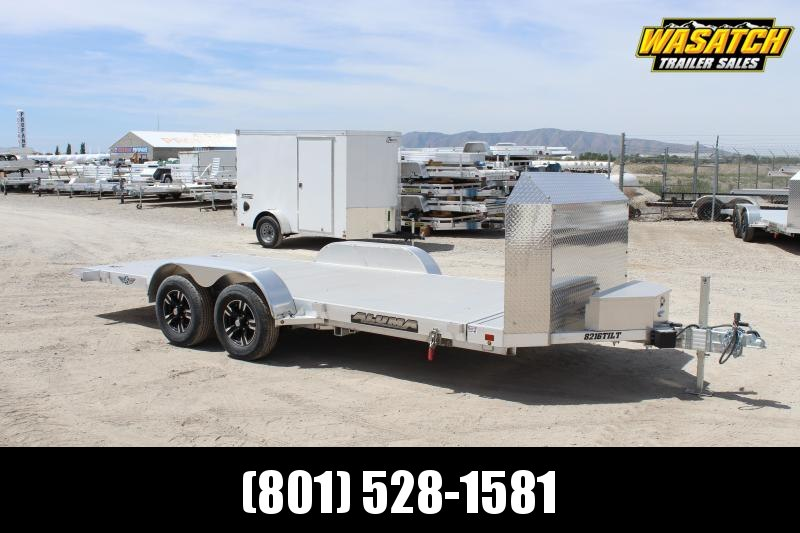 "Aluma 82""X16' Anniversary Tilt Car / Racing Trailer"