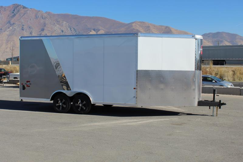 Charmac Trailers 8.5x22 Tri Sport Snowmobile Trailer