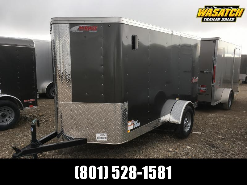 Mirage 5x10 Xpres Enclosed Steel Cargo w/ V-nose