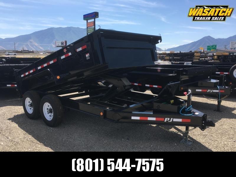 PJ 83x14 Low Pro Dump (DL) Dump Trailer