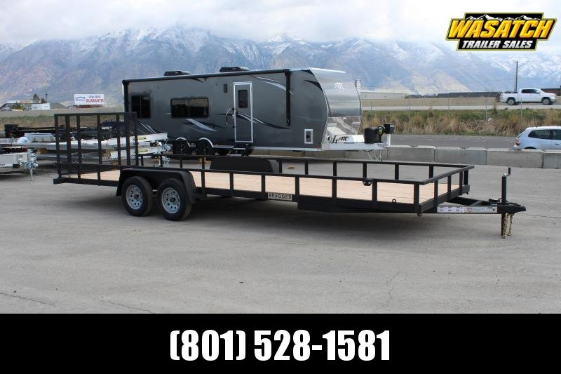 Charmac Trailers 7x24 Rugged Utility Trailer w/ Tube Frame