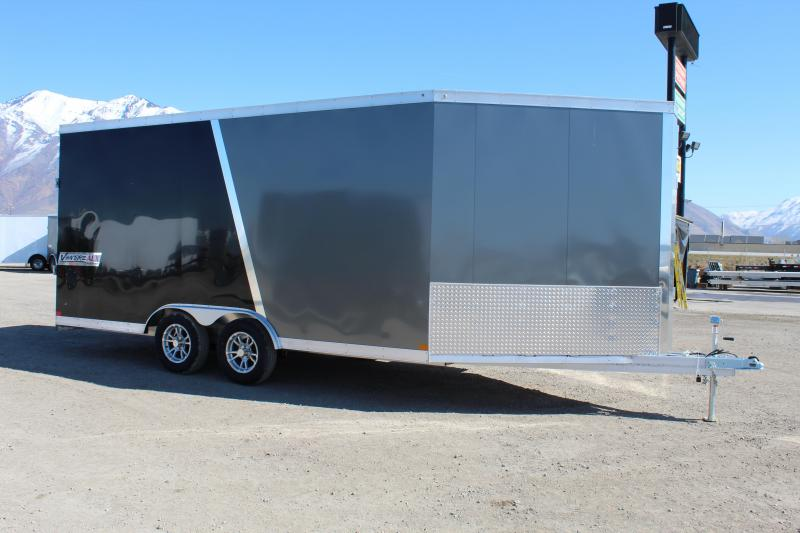 Haulmark 8.5x22 Venture Aluminum Snowmobile Trailer