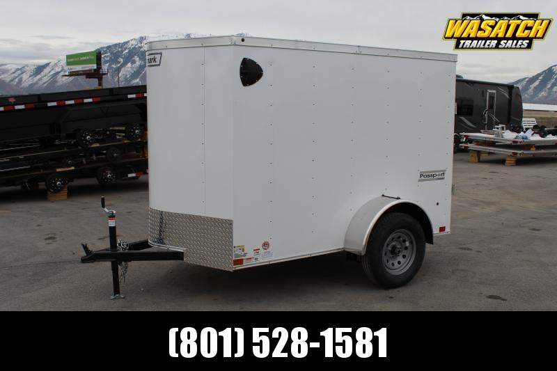 Haulmark 5x8 Passport Deluxe Enclosed Cargo Trailer