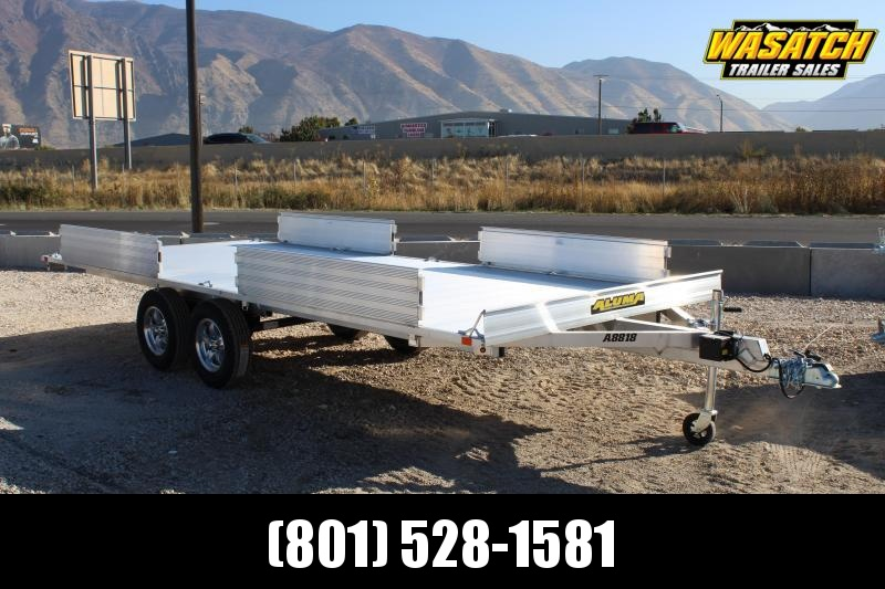 Aluma 7x18 ATV Trailer w/ Side Ramps