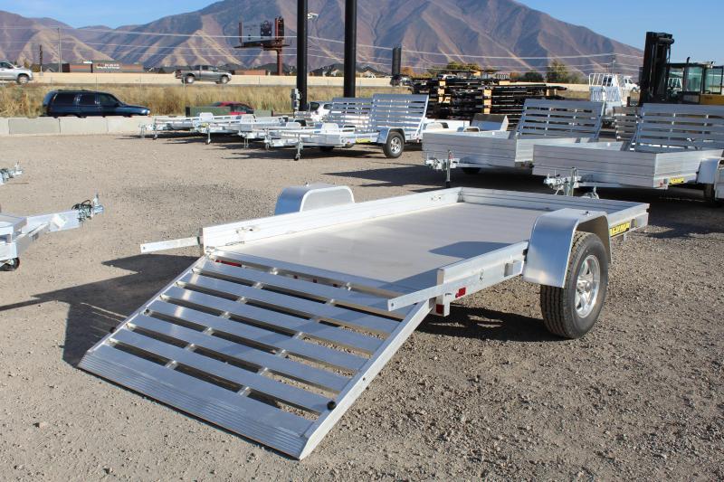 Aluma 5.5x10 Aluminum Utility Trailer