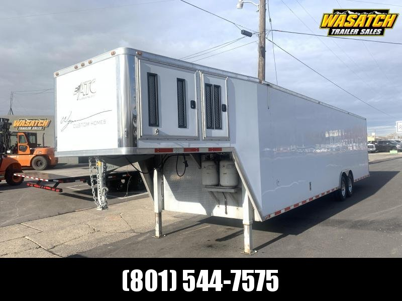 2006 ATC 8.5x40 Gooseneck ATC Enclosed Cargo Trailer