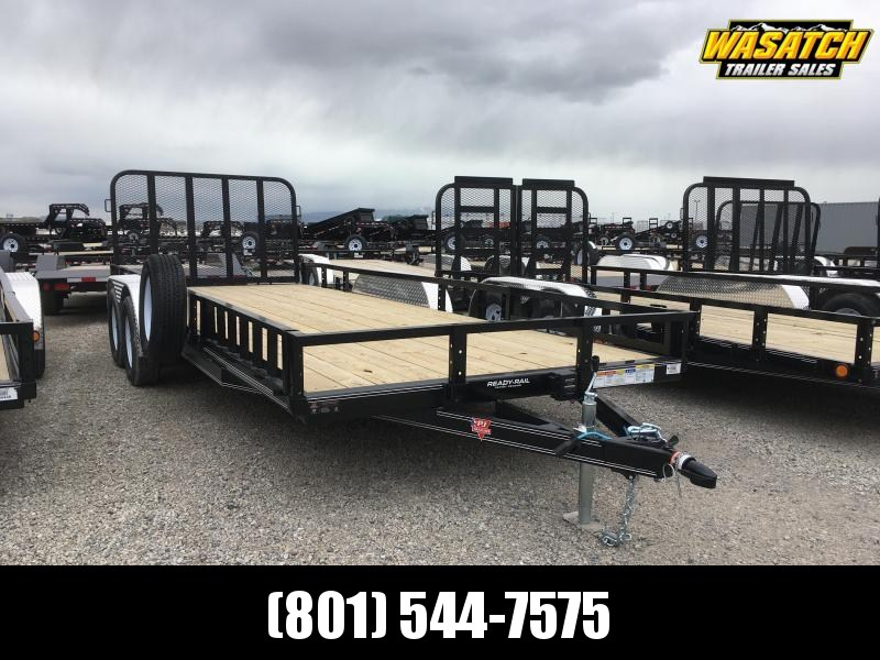 2020 PJ Trailers 20 ft - 83 in. Tandem Axle Channel Utility (UL) Utility Trailer
