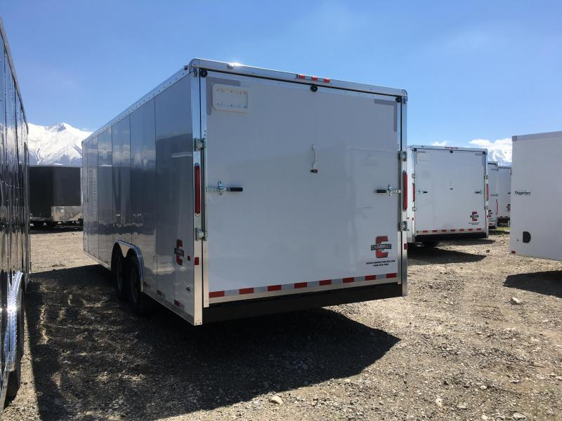 2019 Charmac Trailers 100x22 Commercial Duty Enclosed Cargo Trailer