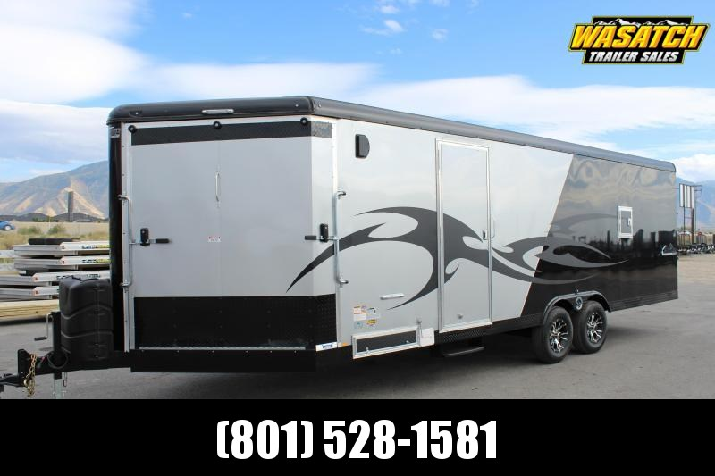 Mirage 8.5x28 Xtreme Sport Loaded Snowmobile Trailer