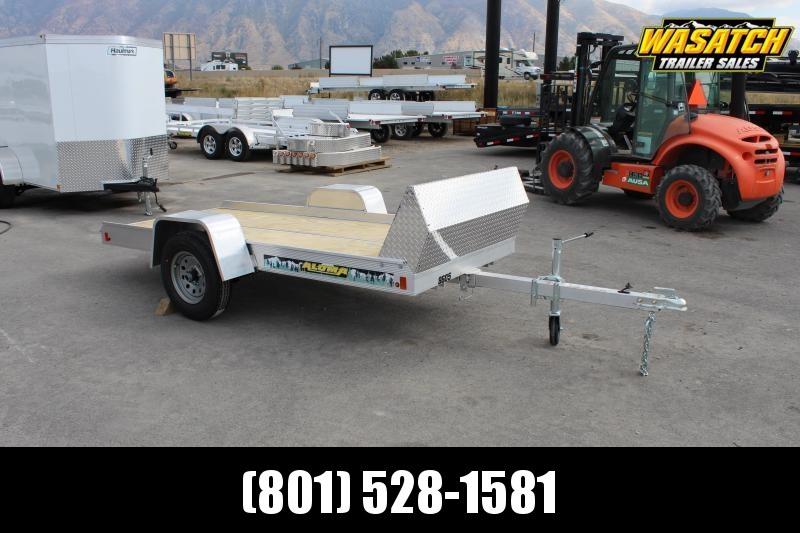 Aluma 8605FTILT Snowmobile Trailer w/ Rock Shield