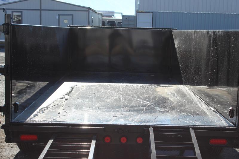PJ Trailers 7x16 Low-Pro High Side (DM) Dump Trailer