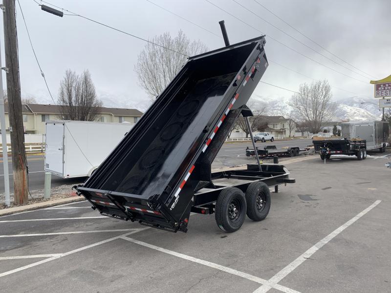 PJ 7x14Telescopic Dump (DT) w/ 8k Axles